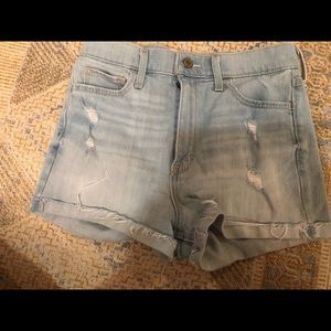 Hollis yet distressed high waisted shorts